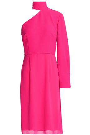 MIKAEL AGHAL One-shoulder crepe dress