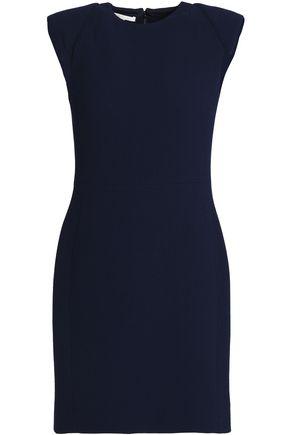 ANTONIO BERARDI Wool and silk-blend crepe mini dress