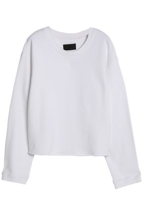 RTA Cotton-terry sweatshirt