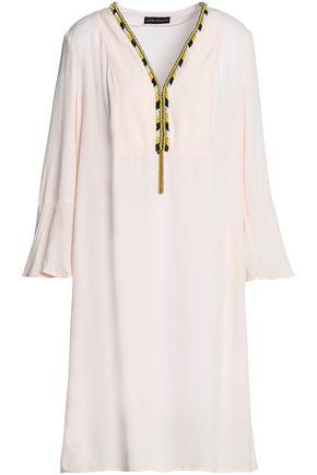 ANTIK BATIK Beaded crepe dress