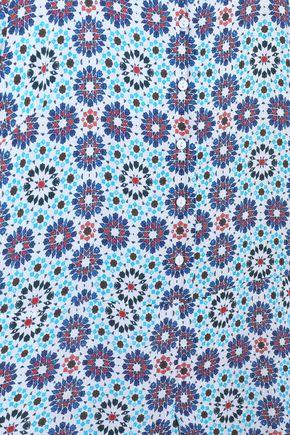 ANTIK BATIK Arty floral-print crepe playsuit