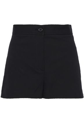 THEORY Cotton-blend canvas shorts