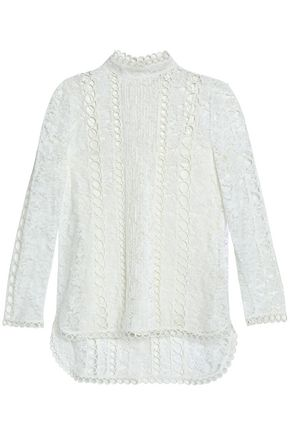 ZIMMERMANN Cotton-blend lace top