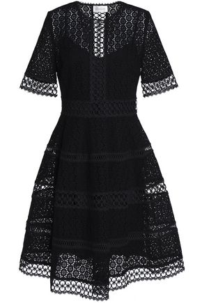 ZIMMERMANN Broderie anglaise cotton dress