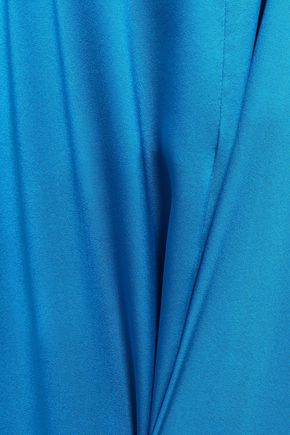 PAPER London Silk-satin jumpsuit