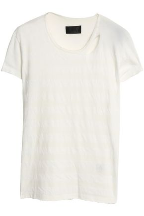 RTA Cotton-blend jersey T-shirt