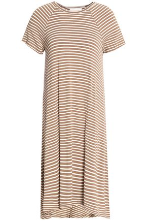 ZIMMERMANN Striped stretch-jersey midi dress