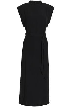 ZIMMERMANN Crepe-satin midi dress