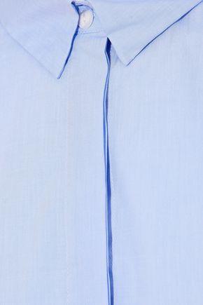 RAG & BONE Asymmetric cotton-poplin top