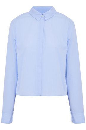 RAG & BONE Asymmetric cotton-poplin top