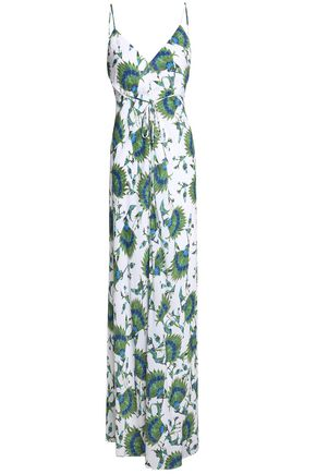 VIX PAULAHERMANNY Faby printed crepe maxi dress