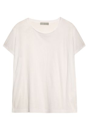VINCE. Slub jersey T-shirt