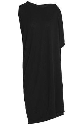 RICK OWENS LILIES Asymmetric stretch-knit dress