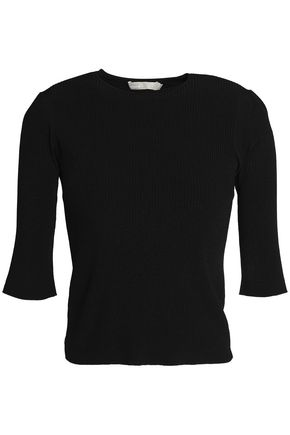 VINCE. Ribbed-knit top