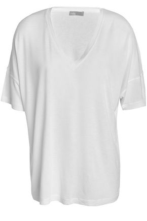 VINCE. Stretch-jersey T-shirt