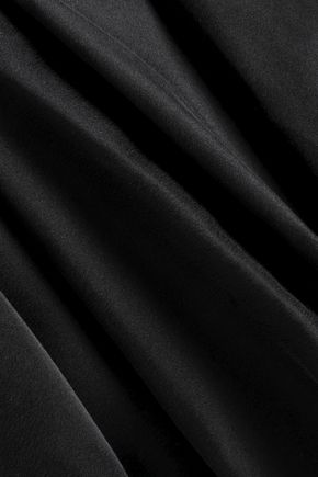 ZIMMERMANN Draped washed silk mini dress