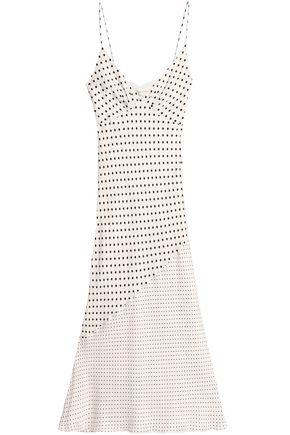 ZIMMERMANN Paneled printed crepe de chine midi dress