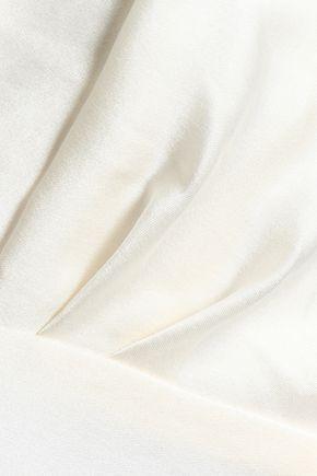 ZIMMERMANN Pleated washed-silk camisole