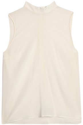 ZIMMERMANN Washed-silk top