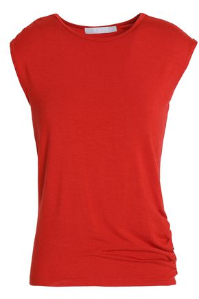 KAIN Ruched stretch-jersey top