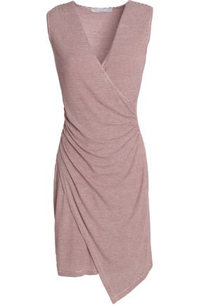 KAIN Juno wrap-effect ruched stretch-modal dress