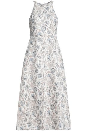 ZIMMERMANN Linen midi dress