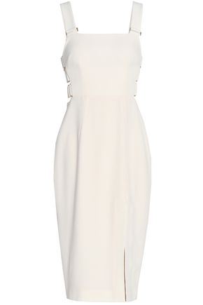 ZIMMERMANN Cutout crepe dress