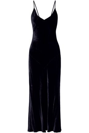 MARISSA WEBB Velvet maxi dress