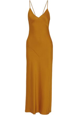 MARISSA WEBB Satin-crepe maxi dress
