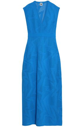 M MISSONI Crochet jacquard-knit maxi dress