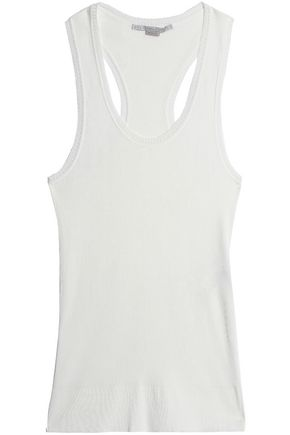 STELLA McCARTNEY Ribbed cotton-jersey tank