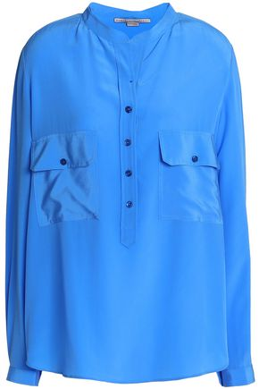 STELLA McCARTNEY Silk-crepe shirt