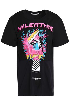 STELLA McCARTNEY Printed cotton-jersey T-shirt