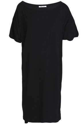 T by ALEXANDER WANG Slub stretch-jersey dress