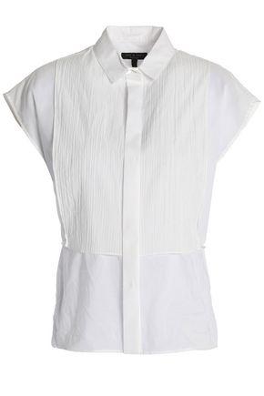RAG & BONE Cotton-gauze top