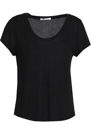 T by ALEXANDER WANG Stretch-jersey T-shirt