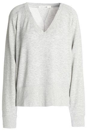 RAG & BONE/JEAN Stretch modal and cotton-blend terry T-shirt