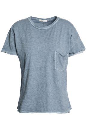 RAG & BONE/JEAN Mélange slub cotton-jersey T-shirt