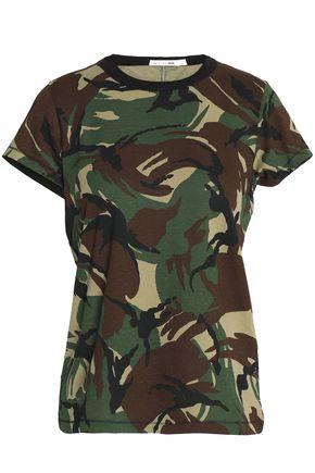 RAG & BONE/JEAN Printed cotton-jersey T-shirt