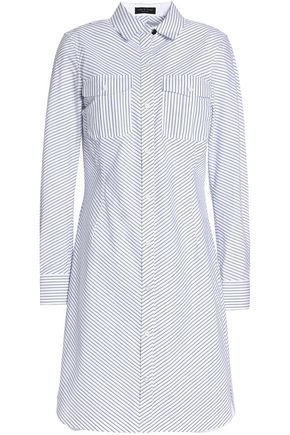 RAG & BONE Striped cotton-poplin shirt dress