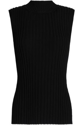 ROSETTA GETTY Ribbed-knit turtleneck top