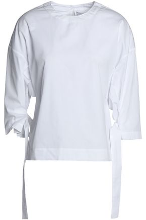 ROSETTA GETTY Layered cotton-jersey tunic