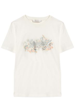 ZIMMERMANN Printed cotton-jersey T-shirt