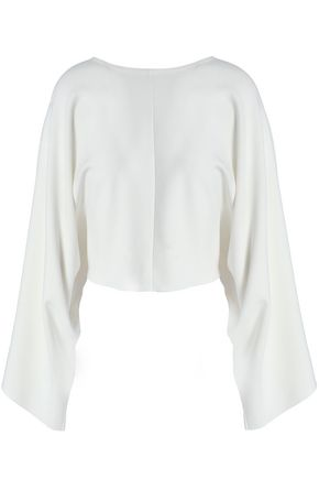STELLA McCARTNEY Draped stretch-knit top