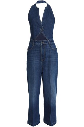STELLA McCARTNEY Cutout denim jumpsuit