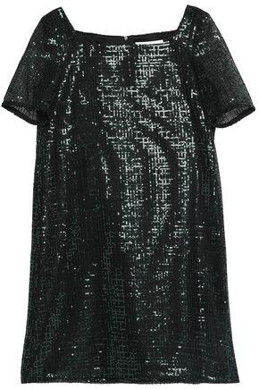 GOAT Sequined woven mini dress
