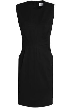 MILLY Stretch-cotton mini dress
