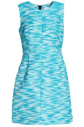 MILLY Cotton-blend jacquard mini dress
