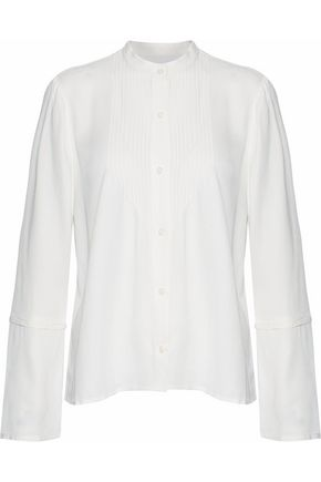DEREK LAM 10 CROSBY Pintucked twill shirt