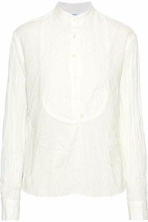 DEREK LAM 10 CROSBY Crinkled-cotton shirt